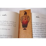 Wooden Bookmark - Coffee is like life...