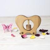 Organic Rattle Butterfly