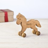 Personalised Wooden Horse