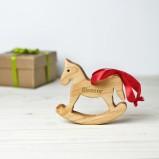 Personalised Rocking Horse Decoration