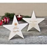 Personalised Festive Star Ornament