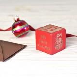 Baby's First Christmas Keepsake Block