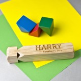 Personalised Wooden Train Whistle