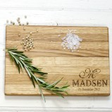 Personalised Handcrafted Oak Chopping Board