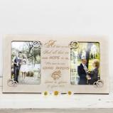 Parent Wedding Gift Personalised Photo Frame