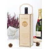 Thank You  Personalised Wine Gift Box