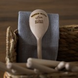 Mixed With Love Wooden Spoon
