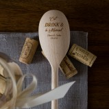 Eat Drink & Be Married Wooden Spoon