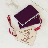 Compass Personalised Luggage Tag