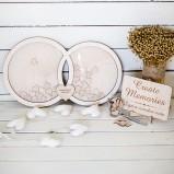 Wedding Rings Alternative Guest Book