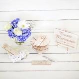 Wooden Alternative Wedding Guest Book