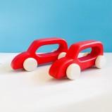 Push-Along Red Car