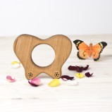 Organic Wood Teether Butterfly