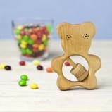 Organic Rattle Teddy Bear