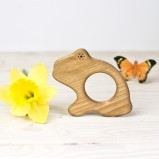 The Big Hungry Frog Organic Baby Teether