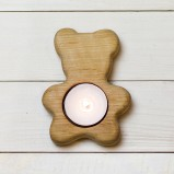 Teddy Bear Tea-light Holder