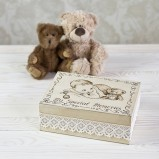 Baby & Teddy Personalised  Keepsake Box