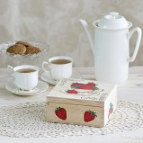Strawberry Personalised Tea Box