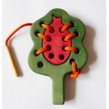 Tree with Ladybird Montessori Lacing Toy
