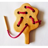 Tree Montessori Lacing Toy