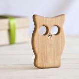 Organic Baby Owl Teether