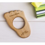 Organic Baby Foot Teether
