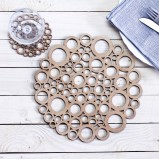 Eco Placemats Circles Set