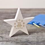 Personalised Wooden Birthday Star