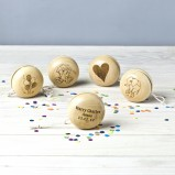 Personalised Traditional Wooden Yoyo Toy
