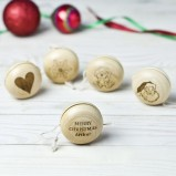 Personalised Happy Christmas Wooden Yoyo Toy