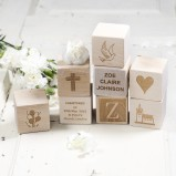 New baby Personalised Wooden Blocks