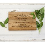 Cooking Memories Oak Chopping Serving Board