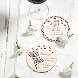 Personalised Thank You coasters