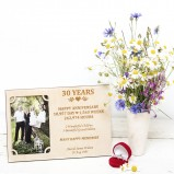 30 Years wedding anniversary Personalised Photo Frame