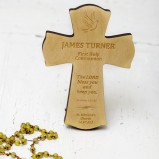 Personalised Baptism, First Holy Communion Cross
