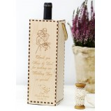 Wedding Couple Personalised Wine Gift Box