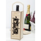 Roses Personalised Wine Gift Box