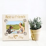 Best Friends Personalised Dog Photo Frame
