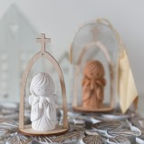 Spiritual White Ceramic Guardian Angel