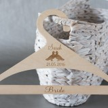Personalised Hanger for the bride or bridesmaid