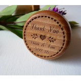 """Thank You"" Personalised Wine Bottle Stopper"