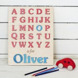 My first alphabet Personalised Puzzle