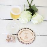 Eat Drink & Be Married Personalised Coasters