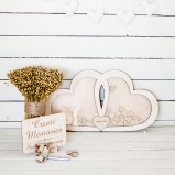 Hearts Wedding Alternative Guest Book