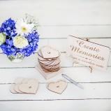 Create Memories Wedding Guest Book