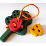 Fruit Tree – Motessori Lacing Toy