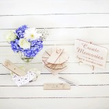 Wooden Alternative Wedding Guest Book