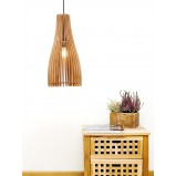 Wooden Retro Lampshade Ceiling Light