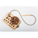 Board with Button - Lacing Toy