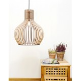 Scandinavian Wooden Ceiling Light